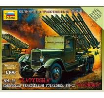 Zvezda 6128 - 1:100 BM-13 Katiyusha (Art of Tactic)