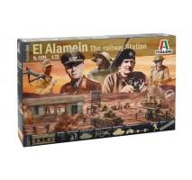 Italeri 6181 - 1:72 BATTLESET: EL ALAMEIN WAR - 116 figures