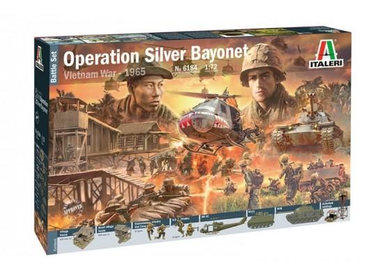 Italeri 6184 - 1:72 VIETNAM WAR: Operation Silver Bayonet, 1965 - diorama, 100 figures