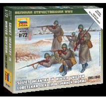 Zvezda 6197 - 1:72 Soviet Infantry (Winter Uniform) - 5 figures