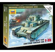 Zvezda 6203 - 1:100 Soviet Tank T-35