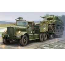 MERIT - 1:35 US M19 Tank Transporter with Soft Top Cab - Model Kit