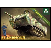 TAKOM 2012 - 1:35 French HeavyTank St.Chamond Late Type