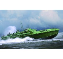 MERIT - 1:48 U.S. Navy Elco 80' Motor Patrol Torpedo Boat, Early Type - Model Kit