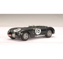 AUTOart 65387 - JAGUAR C-TYPE L.M. WINNER 1953 T.ROLT / D.HAMILTION #18 (RACING GREEN) 1:43