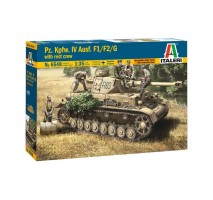 Italeri 6548 - 1:35 Pz.Kpfw. IV Ausf.F1/F2/G Early with rest crew - 5 figures