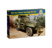 Italeri 6555 - 1:35 37mm Gun Motor Carriage M6