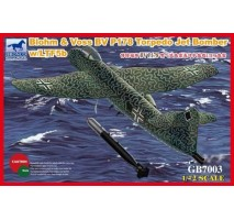Bronco Models GB7003 - 1:72 Blohm & Voss BV P178 Torpedo Jet Bomber w/LTF5b Torp