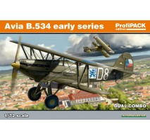 Eduard 70103 - 1:72 Avia B-534 early series DUAL COMBO