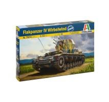 Italeri 7074 - 1:72 Flakpanzer IV Wirbelwind