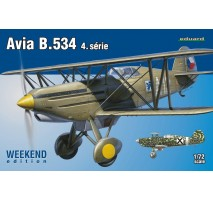 Eduard 7428 - 1:72 Avia B.534 IV. série