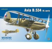 Eduard 7429 - 1:72 Avia B.534 III. serie