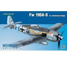 Eduard 7443 - 1:72 Fw 190A-8 w/ universal wings