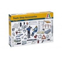 Italeri 0764 - 1:24 TRUCK SHOP ACCESSORIES