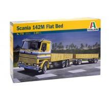 Italeri 0770 - 1:24 SCANIA 142M FLATBED Truck and Trailer