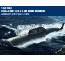 Hobby Boss 83525 - 1:350 Russian Navy SSN Akula Class Attack Submarine