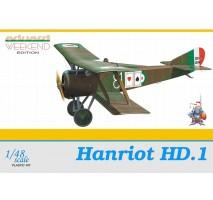 Eduard 8412 - 1:48 Hanriot HD.1
