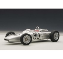 AUTOart 86271 - PORSCHE 804 FORMULA 1 1962 #30 WINNER DAN GURNEY GRAND PRIX DE FRANCE (ROUEN) 1:18