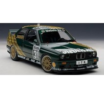 "AUTOart 89148 - 1:18 BMW M3 DTM 1991 ""DIEBELS ALT"" DANNER #30"