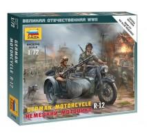 Zvezda 6142 - 1:72 German Motorcycle R-12