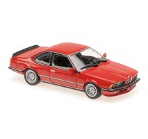 Minichamps - 1:43 BMW 635 CSI (E24) - 1982 - RED - MAXICHAMPS