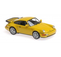 Minichamps - PORSCHE 911 TURBO (964) - 1990 – YELLOW – MAXICHAMPS