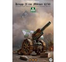 TAKOM 2032 - 1:35 Krupp 21 cm Mörser 10/16 2 in 1