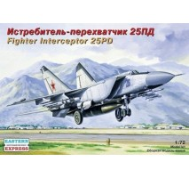 Eastern Express EE72124 - 1:72 Mikoyan-Gurevich MiG-25PD Russian Jet Fighter Interceptor
