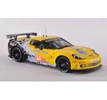 "IXO - 1:43 CORVETTE C6-R ""Corvette Racing"" LeMans'08 #64 15th O.Beretta / O.Gavin / M.Papis"