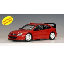 AUTOart 80436 - CITROEN XSARA WRC 2004 PLAIN BODY VERSION (RED) 1:18