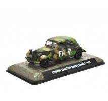 Atlas - 1:43 Citroen Traction Avant, France 1944 (WWII Collection by EAGLEMOSS)
