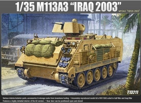 Academy 13211 - 1:35 M113 IRAQ WAR VERSION