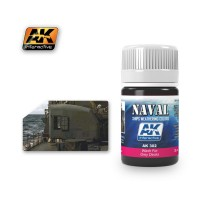 AK-302 WASH FOR GREY DECKS (35 ml) - Weathering Products for Ships