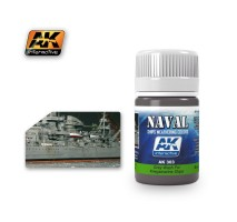 AK-303 GREY WASH FOR KRIEGSMARINE SHIPS (35 ml) - Weathering Products for Ships