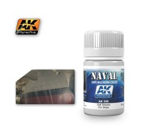 AK-306 SALT STREAKS FOR SHIPS (35 ml) - Weathering Products for Ships