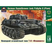 ARK Models AK35029 - 1:35 German flamethrower tank Pz Kpfw II (Flamm)