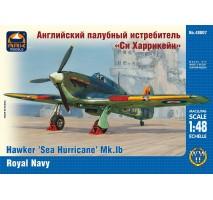 "ARK Models AK48007 - 1:48 Hawker ""Sea Hurricane"" Mk.IB British carrier-borne fighter, the Fleet Air Arm of the Royal Navy"