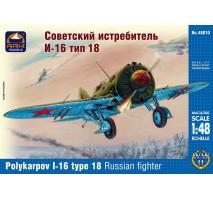 ARK Models AK48010 - 1:48 Polikarpov I-16 Type 18 Russian fighter