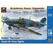 """ARK Models AK48024 - 1:48 Hawker """"Hurricane"""" British fighter, the Soviet Air Forces"""