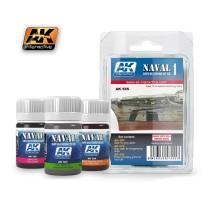 AK-555 SHIPS VOL.1 - Weathering Set (3 x 35 ml)