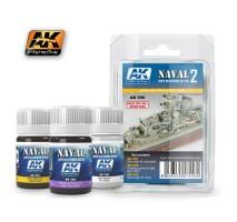 AK-556 SHIPS VOL.2 - Weathering Set (3 x 35 ml)