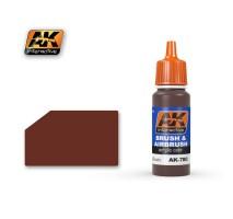 AK-780 DARK WOOD GRAIN - Blue Label Acrylic Paints (17 ml)