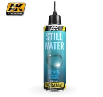 AK-8008 STILL WATER - (250 ml, Acrylic) - Texture Products