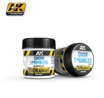 AK-8009 SNOW SPRINKLES - (100 ml, Acrylic) - Texture Products