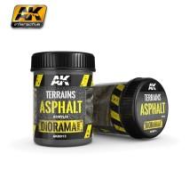 AK-8013 TERRAINS ASPHALT - (250 ml, Acrylic) - Texture Products