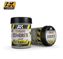 AK-8014 TERRAINS CONCRETE - (250 ml, Acrylic) - Texture Products
