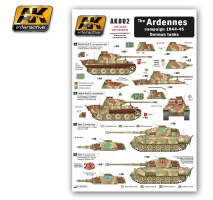 AK-802 The ARDENNES Campaign 1944-45 German Tanks