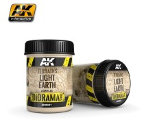 AK-8021 TERRAINS LIGHT EARTH - (250 ml, Acrylic) - Texture Products