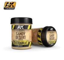 AK-8022 TERRAINS SANDY DESERT - (250 ml, Acrylic) - Texture Products