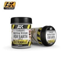 AK-8023 TERRAINS NEUTRAL TEXTURE - (250 ml, Acrylic) - Texture Products